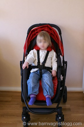 Akta Graco Evo med 2-åring