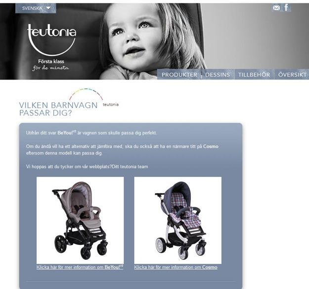 Teutonia-barnvagnstest