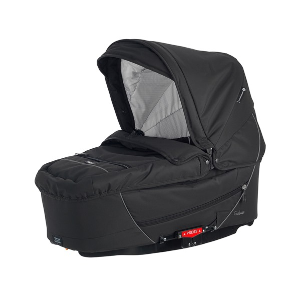 26502 - City Carrycot Supreme, All Black