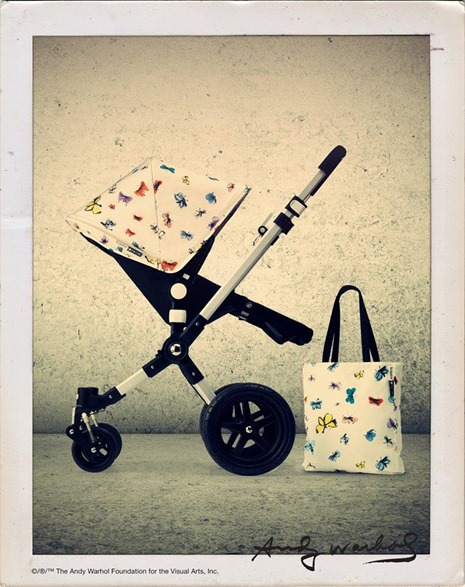 Bugaboo-Andy-Warhol fjärilar