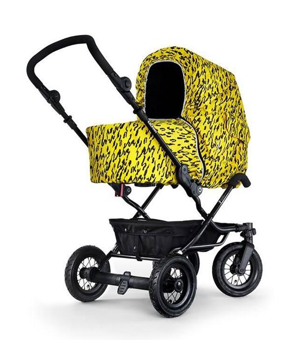 Barnvagnsmarschen-regnskydd