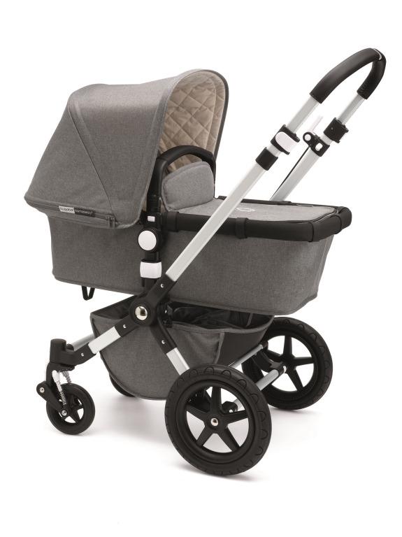 bugaboo cameleon3-classic-gray-melange-bassinet